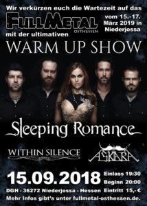Sleeping Romance, Within Silence und Askara zu Gast