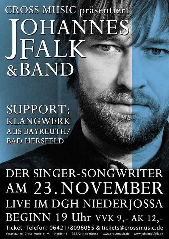 Johannes Falk live im DGH Niederjossa
